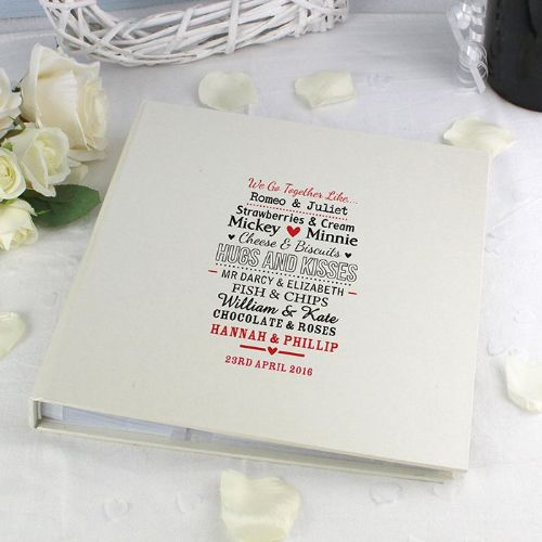 Personalised We Go Together Like Photo Album